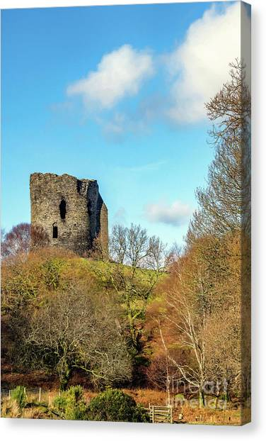Cloud Forests Canvas Print - Dolbadarn Castle Wales by Adrian Evans