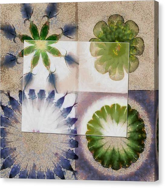 Cal Poly Canvas Print - Doleritic Actuality Flower  Id 16165-074049-84781 by S Lurk
