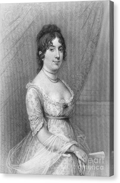 First Lady Canvas Print - Dolley Madison (1768-1849) by Granger