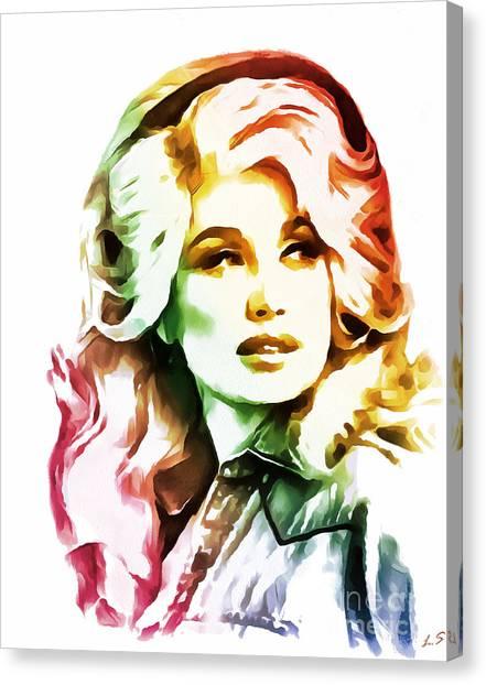 Dolly Parton Collection - 1 Canvas Print