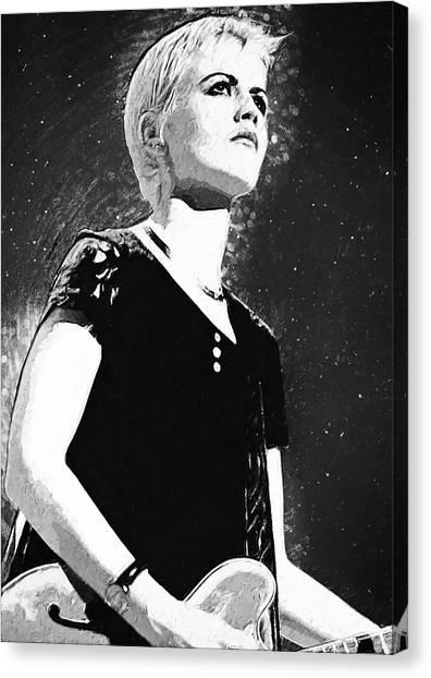 Dolores O Riordan Canvas Print