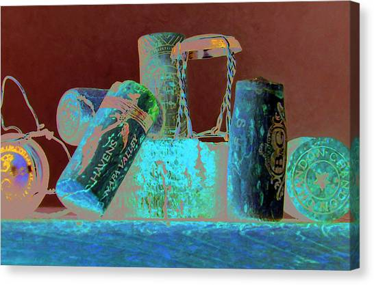 Domain Chandon Canvas Print by Randy Ford