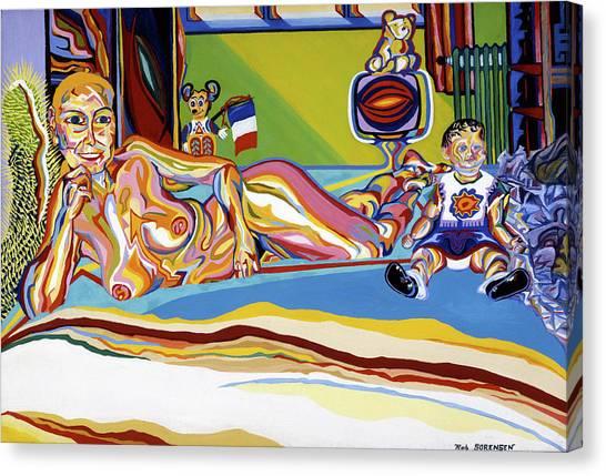 Domaine De Dominique Canvas Print