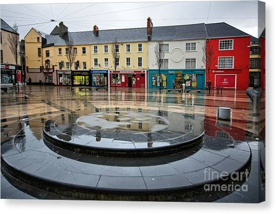 Ireland Canvas Print - Dominick Street, Tralee by Smart Aviation