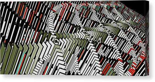 Dominos Canvas Print by David BERNARD