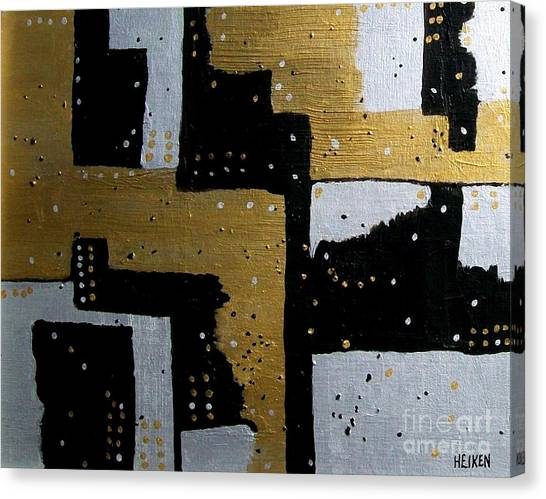 Dominos Canvas Print by Marsha Heiken
