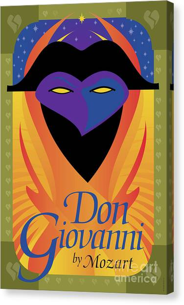 Don Giovanni Canvas Print