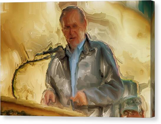 Dick Cheney Canvas Print - Donald Rumsfeld by Brian Reaves