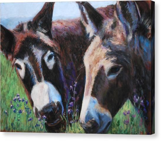 Donkey Tonk Canvas Print