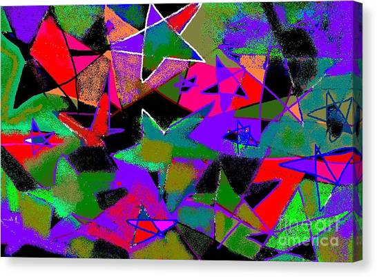 Don't Ask  Don't Tell Canvas Print by Beebe  Barksdale-Bruner