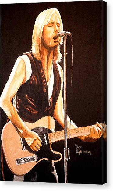 Tom Petty Canvas Print - Don't Do Me Like That by Al  Molina