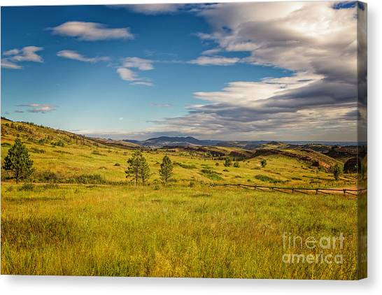 Colorado State University Canvas Print - Don't Fence Me In by Jon Burch Photography