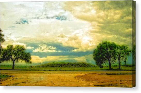 Don't Know Why There's No Sun Up In The Sky Canvas Print