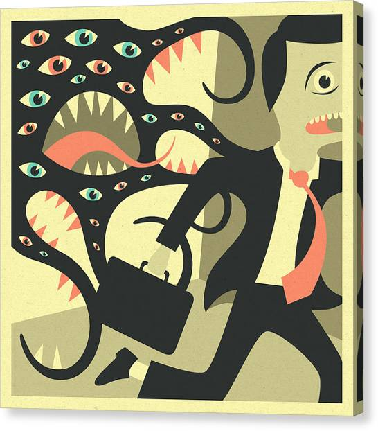 Pop Surrealism Canvas Prints   Fine Art America
