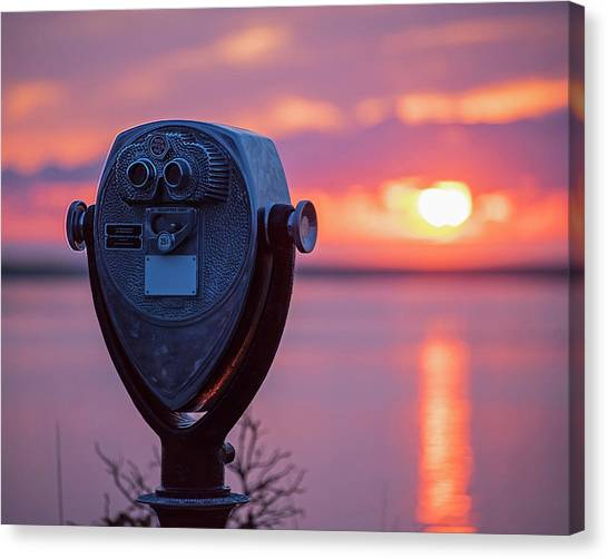 Chatham Canvas Print - Don't Look Directly Into The Sun Chatham Ma Cape Cod by Toby McGuire