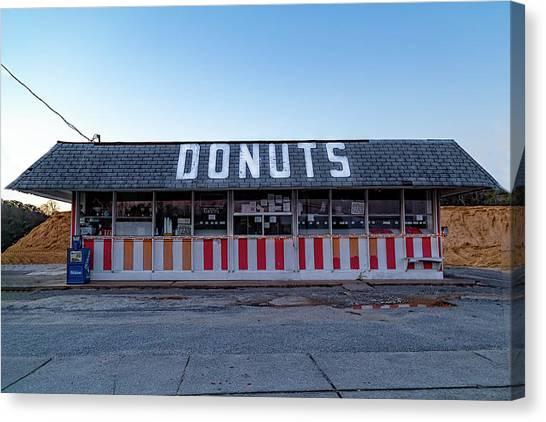 Donut Shop No Longer 3, Niceville, Florida Canvas Print