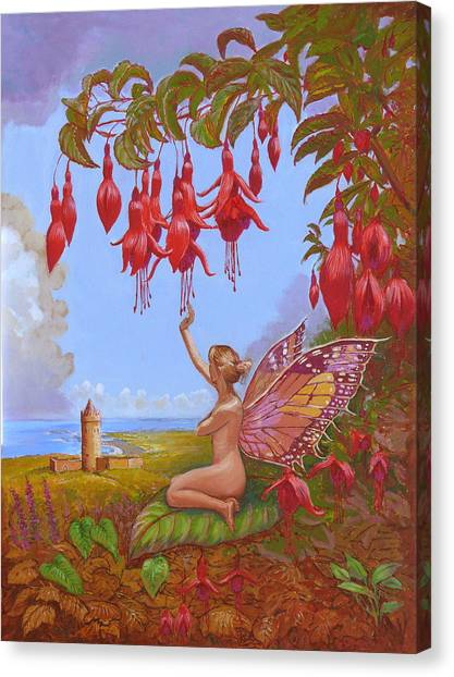 Doolin Fairy Canvas Print by Tomas OMaoldomhnaigh