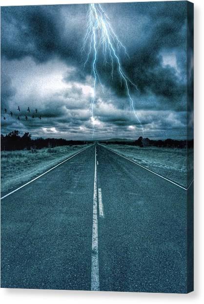 Doomsday Road Canvas Print