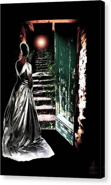 Door Of Opportunity Canvas Print