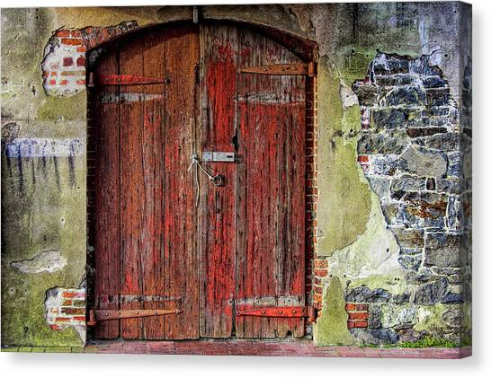 Door To Discovery Canvas Print by JAMART Photography