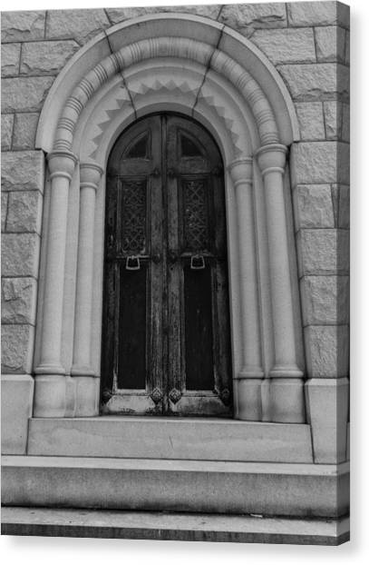 Door To Eternity Canvas Print by Denise McKay