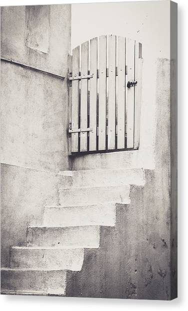 Door To Nowhere. Canvas Print