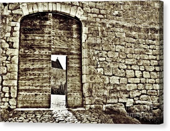 Door To Salvation Canvas Print