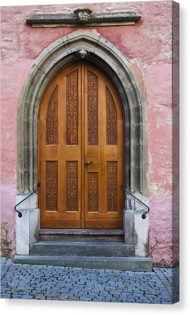 Fuselier Canvas Print - Doors Of Germany by Cecil Fuselier