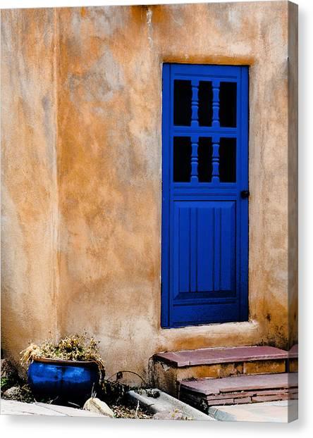 Doors Of Taos Canvas Print