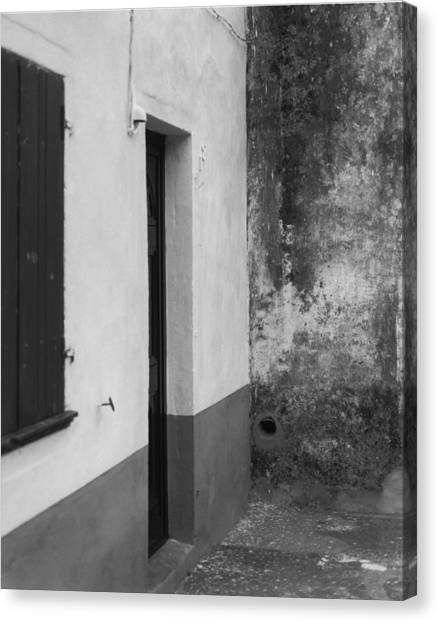 Doorway - Sao Miguel - Azores Canvas Print by Henry Krauzyk