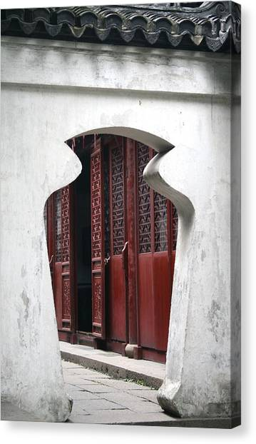 Doorway Canvas Print by Erika Lesnjak-Wenzel
