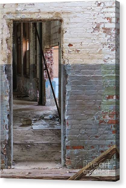 Doorway Canvas Print