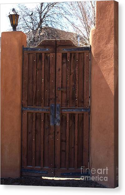 Doorway New Mexico Canvas Print