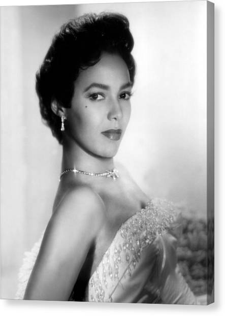 Beauty Mark Canvas Print - Dorothy Dandridge, No Date by Everett