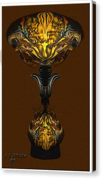 Double Lamp Canvas Print by Jerry White