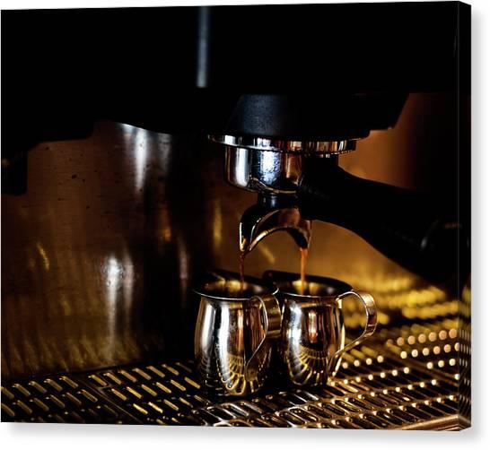 Double Shot Of Espresso 2 Canvas Print
