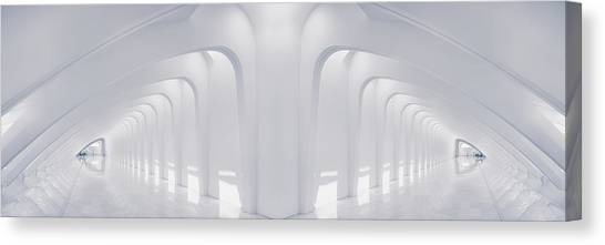 Tunnels Canvas Print - Doubled Arches by Scott Norris