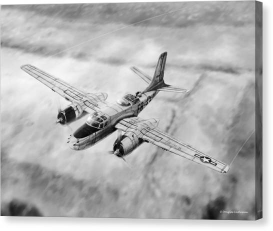 Douglas A-26 Invader Canvas Print