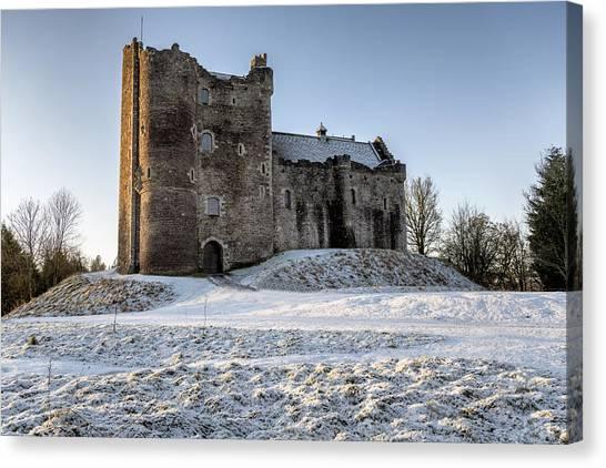 Doune Castle In Central Scotland Canvas Print