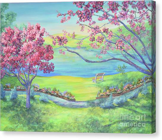Warner Park Canvas Print - Down By The Bay by Malanda Warner