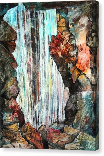 Mammoth Cave Canvas Print - Down In The Underground I by Patricia Allingham Carlson