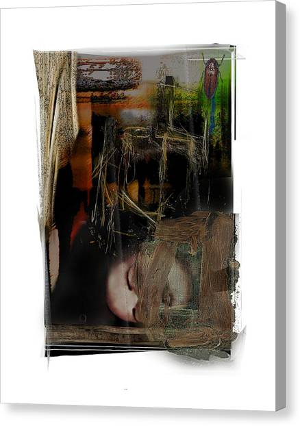 Down Canvas Print by Nuff