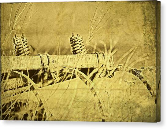 Rusty Canvas Print - Down On The Farm by Tom Mc Nemar