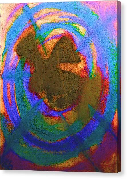 Down The Rabbit Hole Canvas Print