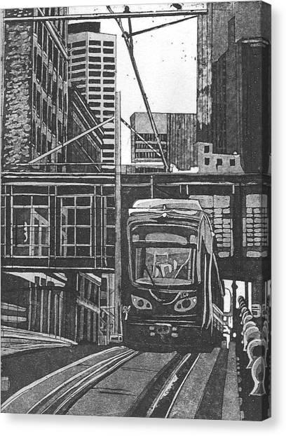 Down Town Canvas Print