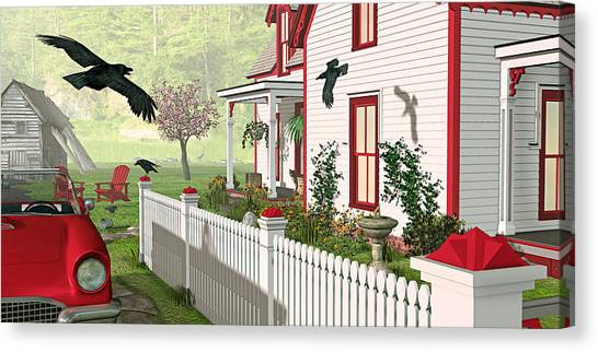 Downeast Morning Canvas Print