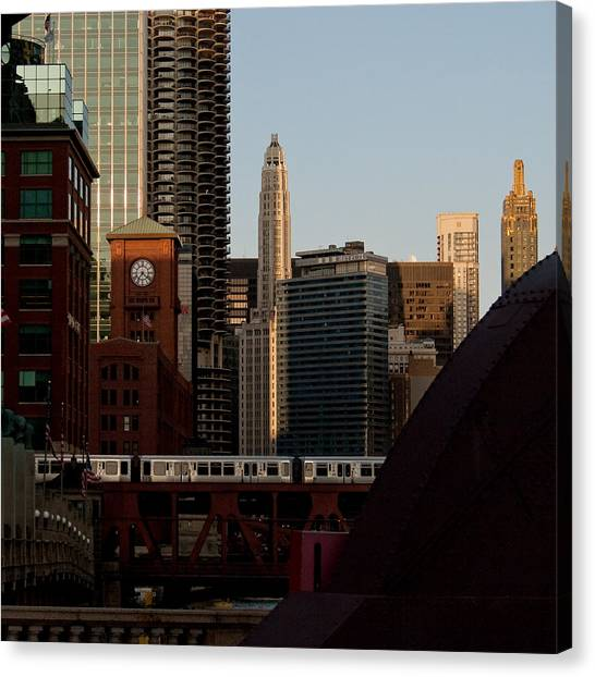 Downtown Chicago Canvas Print