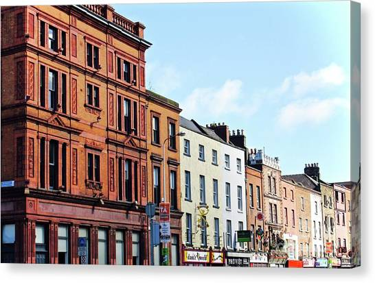 Downtown Dublin Canvas Print