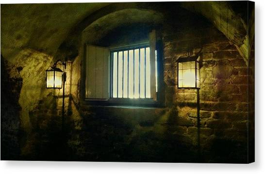 Downtown Dungeon Canvas Print