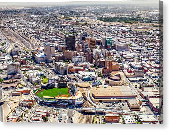 Downtown El Paso Canvas Print